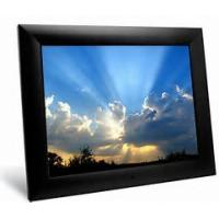 China 12 Inch SD Card Digital Wifi Picture Frame , MMC MS XD USB Digital Photo Player wholesale