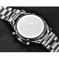 Quality Benyar Men Full Steel Multifunction Chronograph  Tachymeter 3 ATM Fashion Wrist Watches BY-5107 for sale