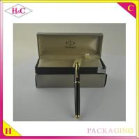 China Handmade luxury plastic pen display box wholesale