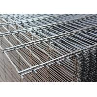 China 50mm X 100mm Welded Wire Fabric Power Coated RAL 6005 Nylofor 2D Panels on sale