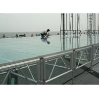 China Professional18mm Acrylic Stage Platform with Adjustable Stage legs wholesale