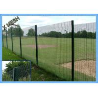 China PVC Coated 3d Curved Metal Fence panel Heavy Duty Metal Mesh Fencing High Tensile wholesale