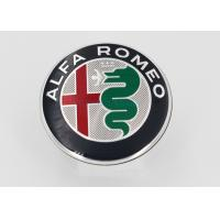 China Automotive Plastic Molding 3D Plastic Car Logo / Emblem / ABS Chrome Car Badge With Brand Alfa Romeo wholesale