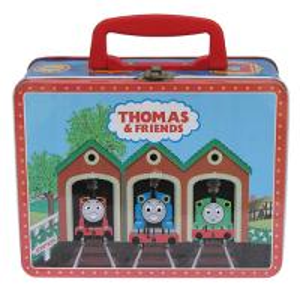 China Thomas Metal Tin Lunch Box Cute Printed CYMK / Vanished Outside wholesale