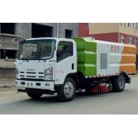 China ISUZU 4*2 Road Washing and Cleaning Tanker Truck With 4cbm Water 5cbm Dust Tanks wholesale
