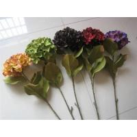 China Artificial Flower Stem Hydrangea(ZHJHY102),Autumn Colors. wholesale