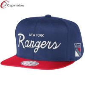 Quality New York Rangers Blue Reflective Custom Strapback Baseball Hats for sale