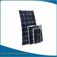 China 10w to 200W Flexible Solar Panel with MC4 Connector / Bendable Solar Panel for Sale on sale