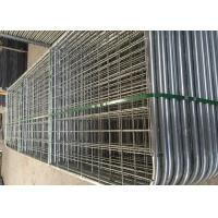 China Australia Style Galvanized Metal 12 Foot Farm Gate With Welded Frame Pipe wholesale
