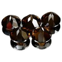 China Smoky Quartz Gems Natural Loose Gemstones wholesale