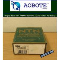 China NTN / Angular Contact Ball Bearings 7009UCGD2/GNP4 , Z2 ABEC-4 in Mining wholesale
