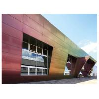 China Fireproof 4mm 5mm Sandwich Aluminium Composite Panel Cladding For Curtain wall wholesale