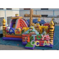 China Giant Kids Engineer Bouncy Castle Playground House Jumping Castle 0.55 PVC EN14960 wholesale