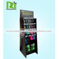 China Advertise POP Cardboard Displays , hanging display hooks For Mobile Phone Cover on sale