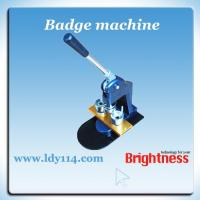 Quality Badge Making Machine (LD-XZJ) for sale