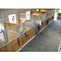 Buy cheap Custom Galvanized Horse Stable Box Front Portable Panels Anti-rust from wholesalers
