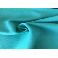 China 57/58 Inch Width Woven Wool Fabric Green Color OEM / ODM Acceptable wholesale