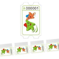 China Wholesale game ticket,mini redemption ticket wholesale