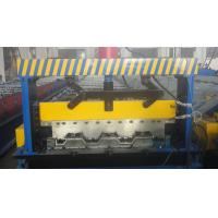 China Galvanized Steel Floor Deck Roll Forming Machine wholesale