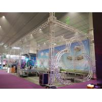 China Exhibtion Booth Or Stage Lighting Truss , 290mm or 300mm Aluminum Square Bolt Truss wholesale