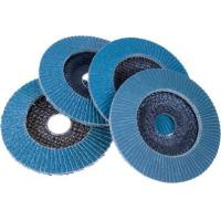 China Metal polishing Flap Wheel with plastic cover wholesale