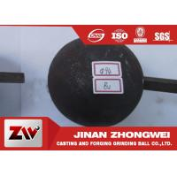 China B3 and B2 Material Forged Steel Ball For Gold And Copper Mining Special Use wholesale
