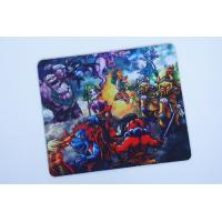 China Full Color Printing Rubber Mouse Mat With Customized Catoon Logo wholesale