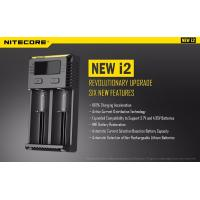 China nitecore I2  2slots fast charge high definition digicharger Ni-Mh Li-ion for 18650 26650 battery charger on sale