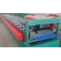 China High Accuracy Japan PCL Control Roof Panel Roll Forming Machine For House Roof Tiles wholesale