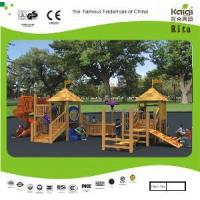 China Outdoor Wooden Playground (KQ10156A) wholesale