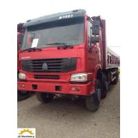 China 30-50T8x4 Second Hand Dumper Truck / 12 Tires Used Tipper Trucks Diesel Type wholesale