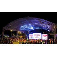 China High Load Silver Modern And Strong Aluminum Stage Truss System 12m Length For Outside Show Events wholesale