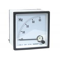 China High Precision Panel Analogue Meter , Frequency Meter With Glass Window wholesale