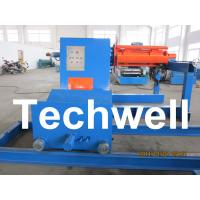 China Full Automatical Uncoiler Curving Machine With Loading Capacity of 5 / 7 / 10 / 15 Ton wholesale