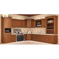 China Double Overall Shelf American Style Kitchen Cabinets / Kitchen Base Cabinets wholesale