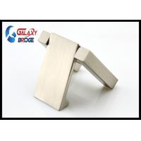 China Brushed Nickle Hidden Furniture Pulls Silver  Concealed Drawer Pulls Furniture Handles 32mm ISO Certified wholesale