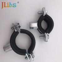 China Zinc Plating Steel Cast Iron Pipe Clamps Set Types Square DC01 wholesale