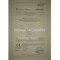 GuangzhouLY Inflatable Co.,Ltd Certifications