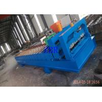 China Servo Motor Roofing Corrugated Sheet Roll Forming Machine Hydraulic Pillar Cutting wholesale