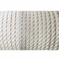 China White Braided 3 Strand Twisted Rope With Wooden Reel Meets US Standards wholesale