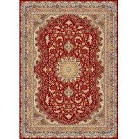 China persian design  1.4 million points machine-made  viscose carpet with fringes on sale