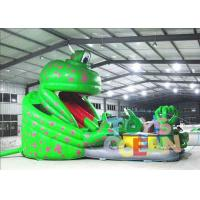 China Funny Commercial Inflatable Playground Rental Green Monster For Outdoor wholesale