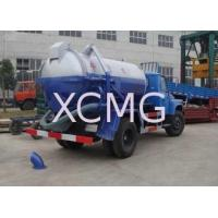Buy cheap Self-Discharge Special Purpose Vehicles , Septic Pump Truck For Irrigation / Drainage / Suction from wholesalers