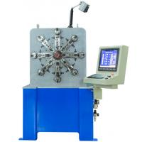 Quality 11 Axis Camless CNC Spring Making Machine With Spinner Motor , Stable Performanc for sale