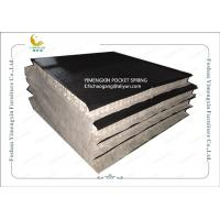 Anti - Bacterial Mattress Pocket Spring Unit With 120 gs Black Non Woven Fabric