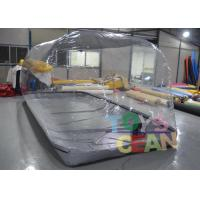 China 4.98x2.03x1.83m  Car Capsule Transparent Inflatable Car Cover Garage Dust wholesale