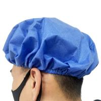 China Waterproof Disposable Head Cap With Single Or Double Elastic Available wholesale