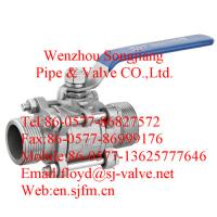 China male threaded ball valve(3pc) wholesale