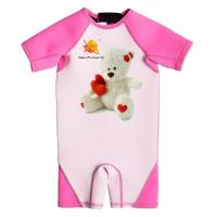 Buy cheap High Quality Girl Neoprene Wetsuit with UV Protection and Cartoon Bear from wholesalers