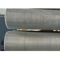 China Nichrome Woven Wire Mesh , Fine Woven Mesh 1400 Degree Heat Resistance on sale